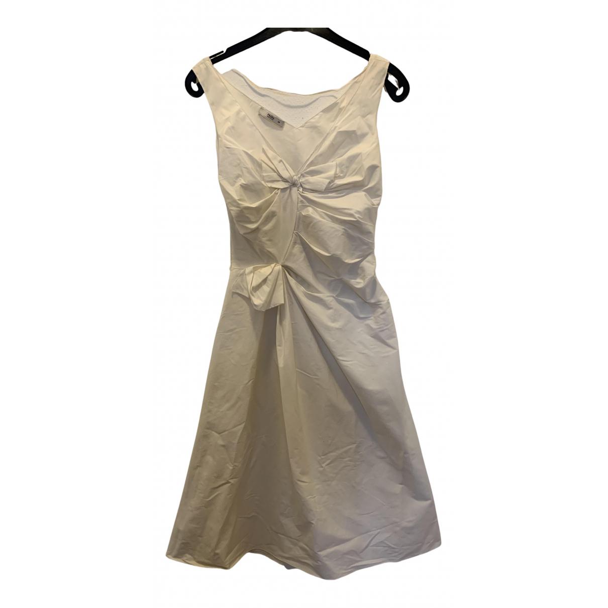 Prada N White Cotton dress for Women 38 IT