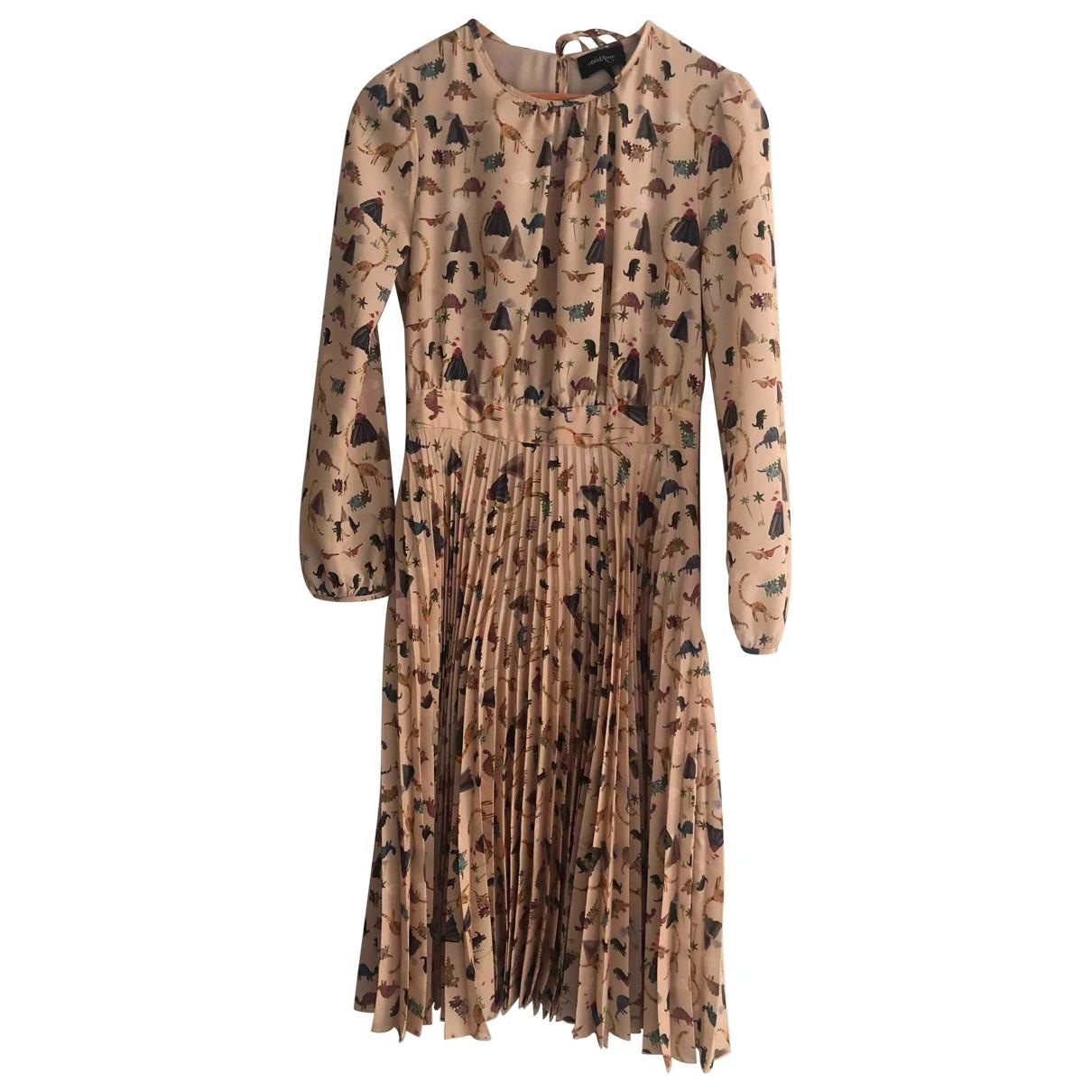 Ottodame \N Kleid in  Beige Polyester