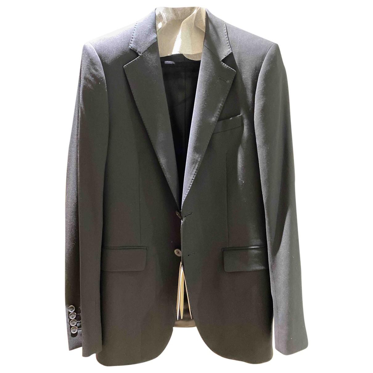Gucci - Costumes   pour homme en laine - noir