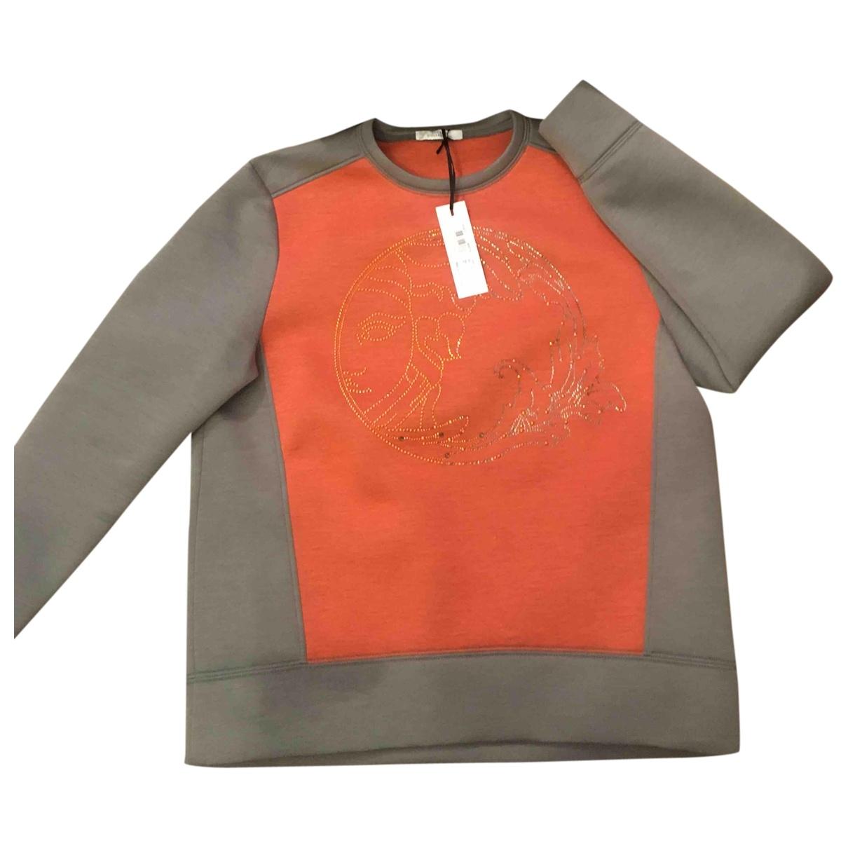 Versace \N Pullover in  Orange Viskose
