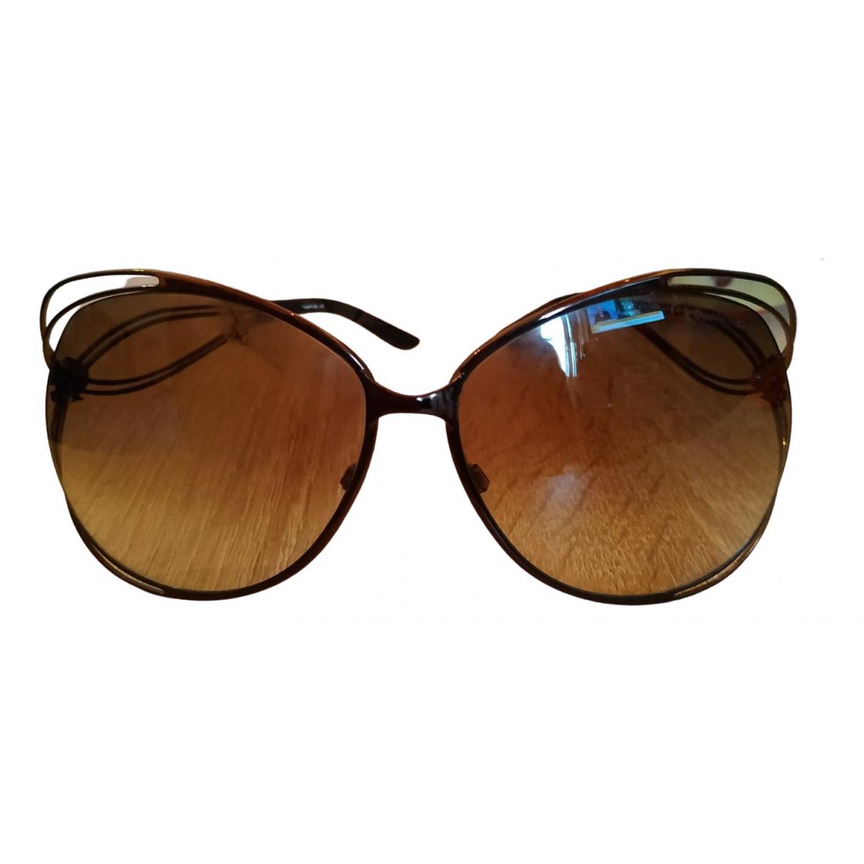 Roberto Cavalli \N Metallic Metal Sunglasses for Women \N