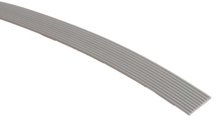 3M 10 Way Unscreened Flat Ribbon Cable, 6.35 mm Width, Series 3756