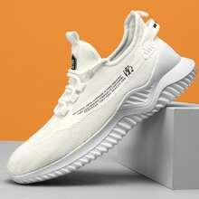 Zapatillas deportivas de hombres con estampado de letra china