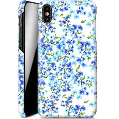 Apple iPhone XS Max Smartphone Huelle - Blue Blooms von Mukta Lata Barua