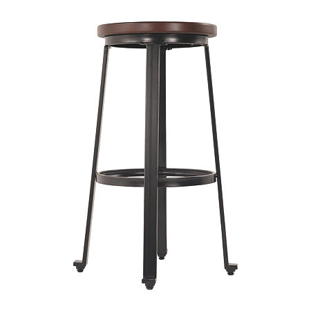Signature Design by Ashley Challiman 2-pc. Bar Stool, One Size , Brown