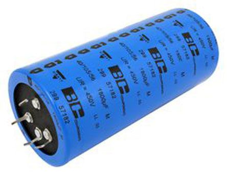 Vishay 1500μF Electrolytic Capacitor 450V dc, Snap-In - MAL229957152E3