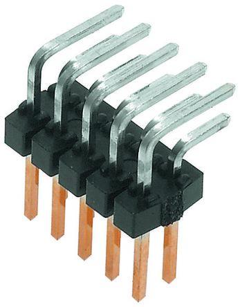 Molex , C-Grid III, 90122, 12 Way, 2 Row, Right Angle Pin Header (5)