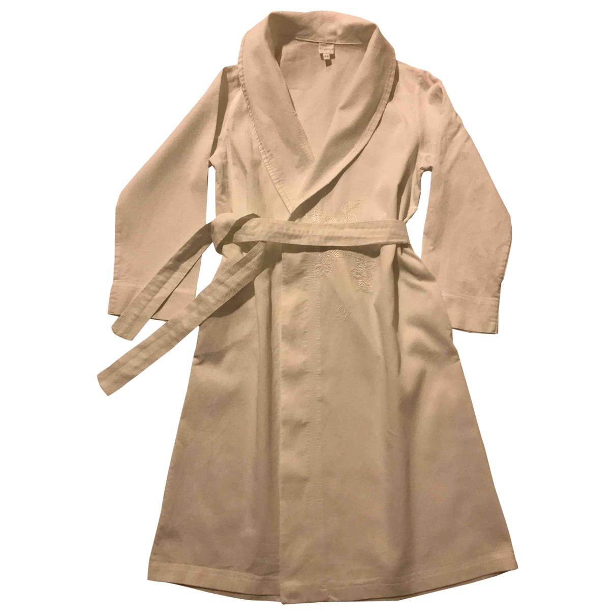 La Perla - Robe    pour enfant en coton - blanc