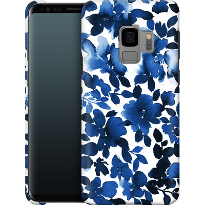 Samsung Galaxy S9 Smartphone Huelle - Sophia Blue Floral von Amy Sia