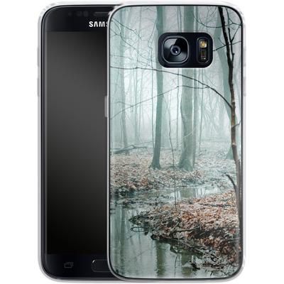 Samsung Galaxy S7 Silikon Handyhuelle - Gather Up Your Dreams von Joy StClaire