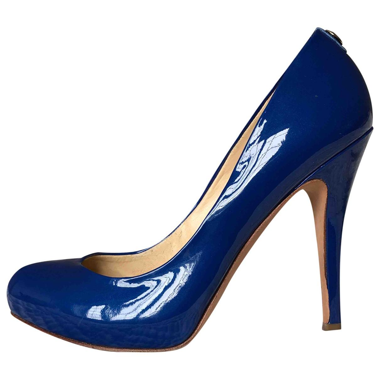 Ivanka Trump \N Pumps in  Blau Leder