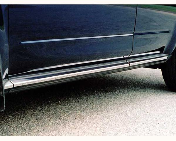 Quality Automotive Accessories 6-Piece Rocker Panel Accent Trim Kit Nissan Murano 2005