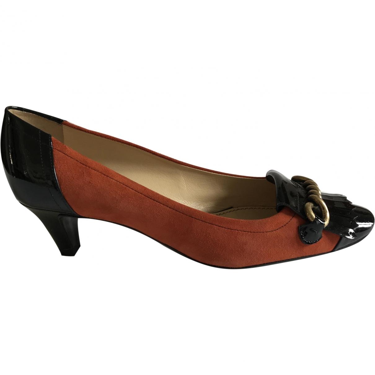 Yves Saint Laurent \N Multicolour Patent leather Heels for Women 37 EU