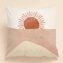 Sun Print Cushion Cover Without Filler