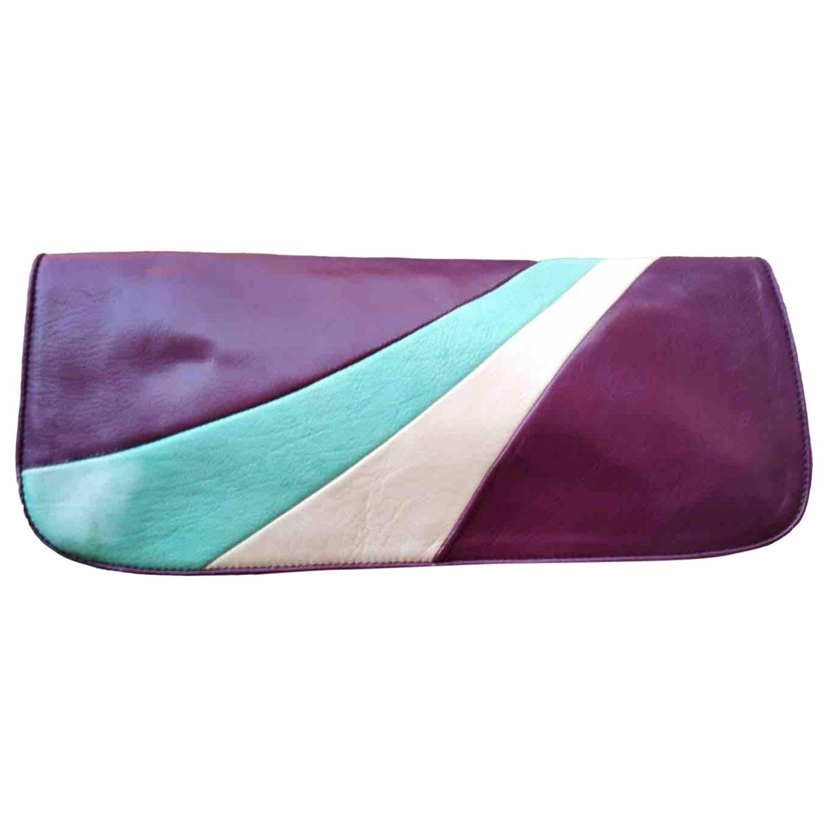 Chie Mihara \N Handtasche in  Lila Leder