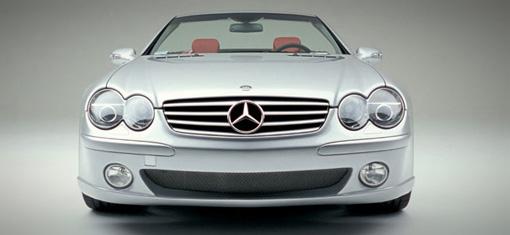 Lorinser 488 0230 10 F01 Front Bumper Spoiler Mercedes-Benz SL-Class 03-06