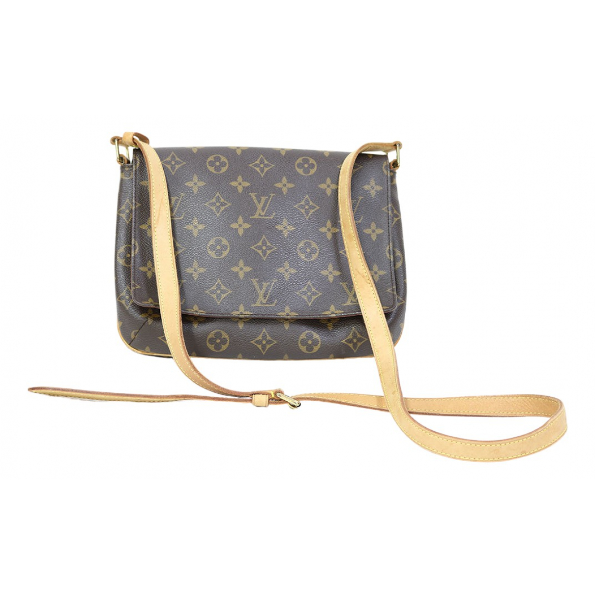 Bolso  Musette Tango  de Lona Louis Vuitton