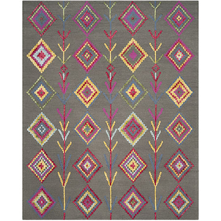 Safavieh Lewis Geometric Rug, One Size , Gray