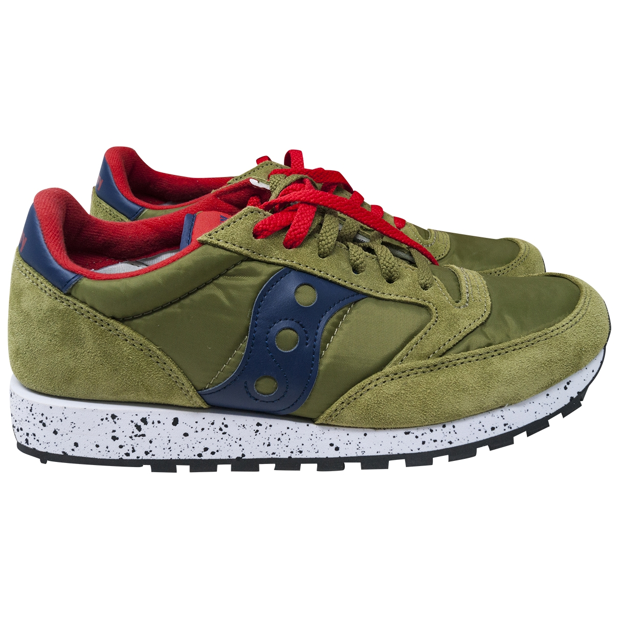 Saucony \N Green Suede Trainers for Men 9.5 UK