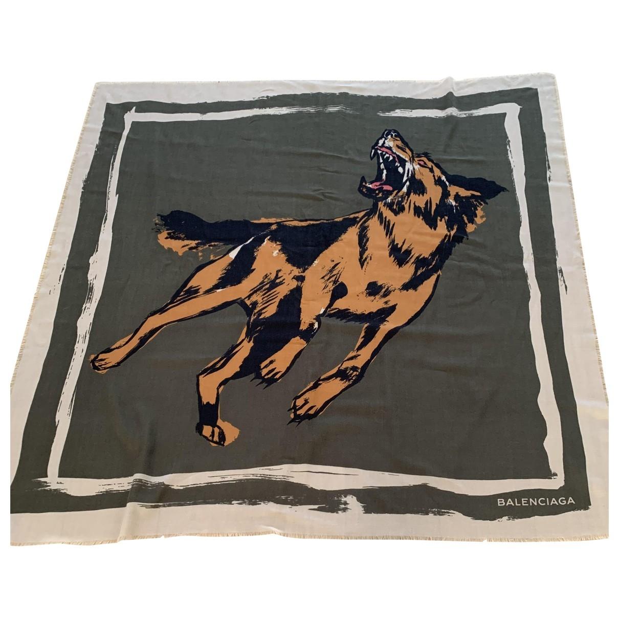 Balenciaga \N Wool scarf & pocket squares for Men \N