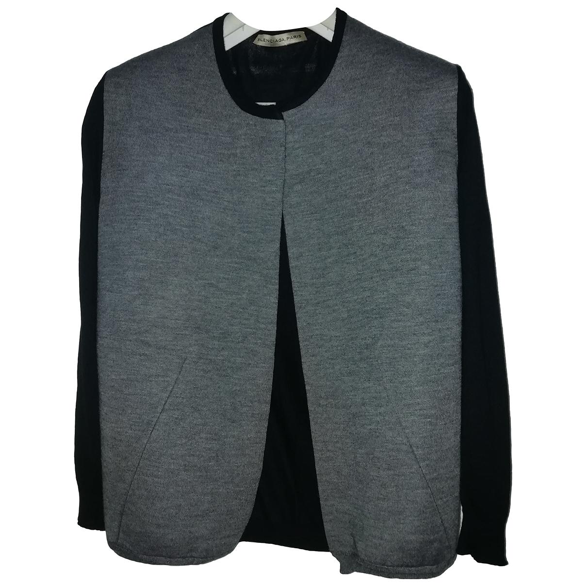 Balenciaga N Black Cashmere Knitwear for Women 44 IT