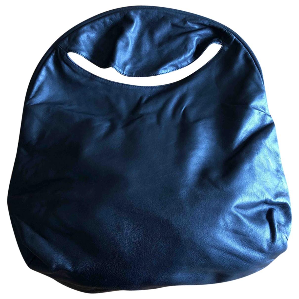 Maison Martin Margiela \N Black Leather handbag for Women \N