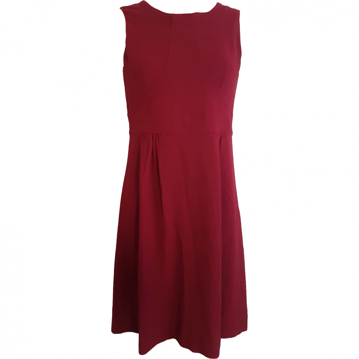 Laurence Dolige \N Red Silk dress for Women 36 FR