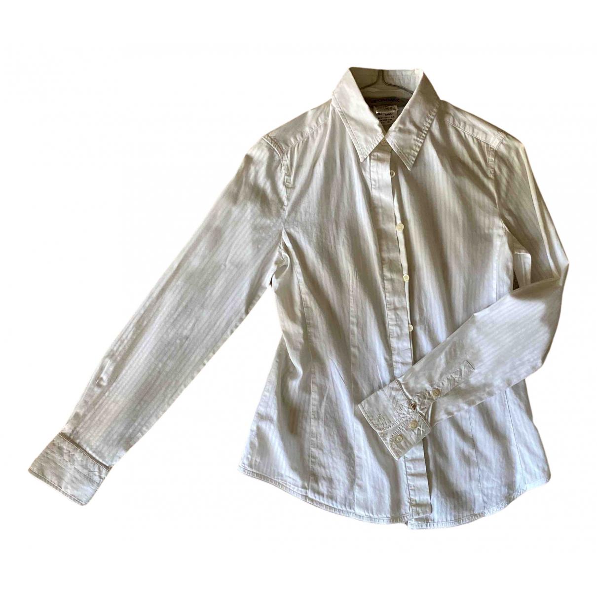 Sport Max - Top   pour femme en coton - blanc