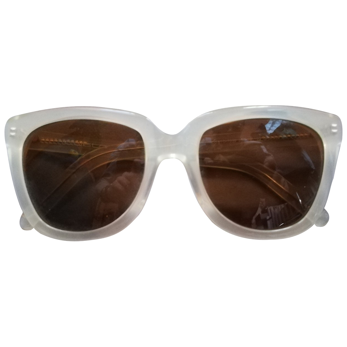 Non Signé / Unsigned \N Beige Sunglasses for Women \N