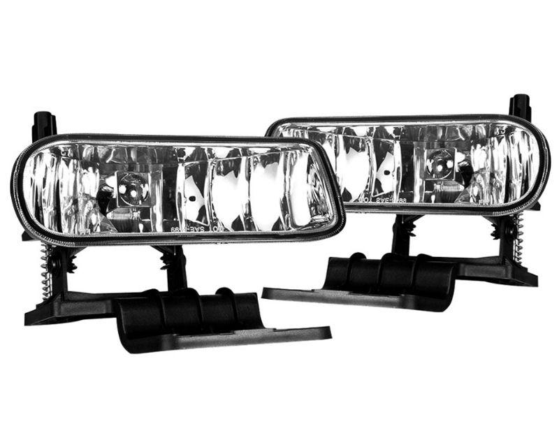 Winjet WJ30-0125-09 Clear OEM Style Fog Lights Chevrolet Silverado 3500 2001