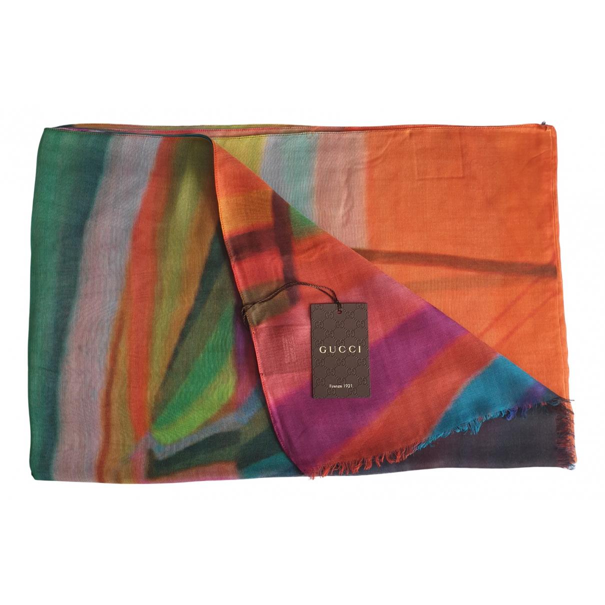 Gucci - Foulard   pour femme - multicolore