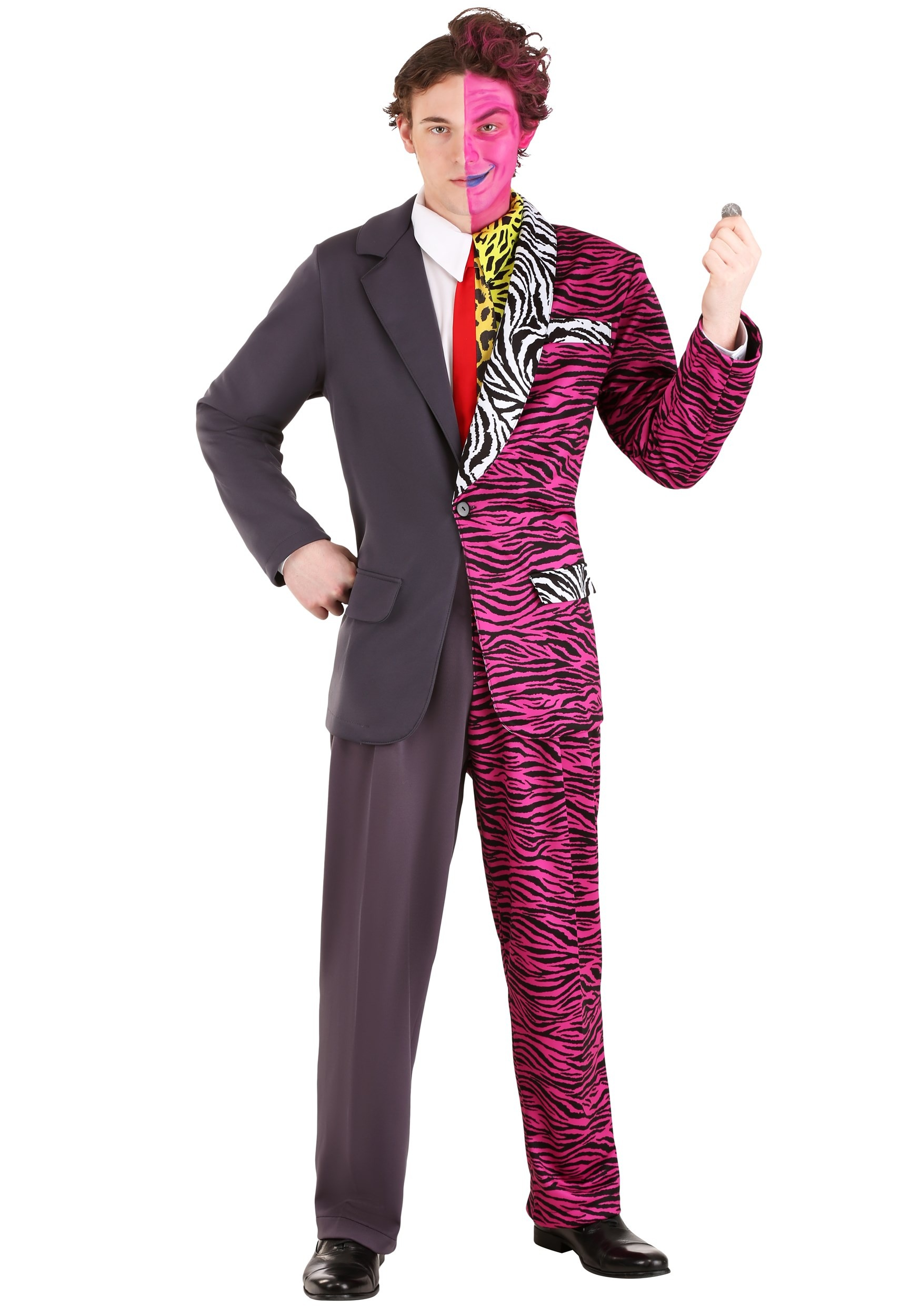 Batman Forever Two-Face Premium Costume for Adult
