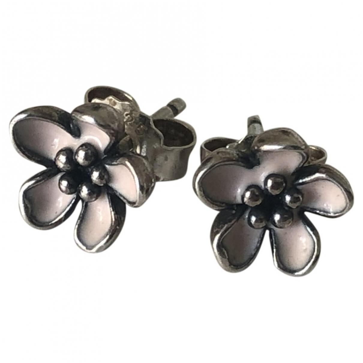 Pandora \N Silver Silver Earrings for Women \N