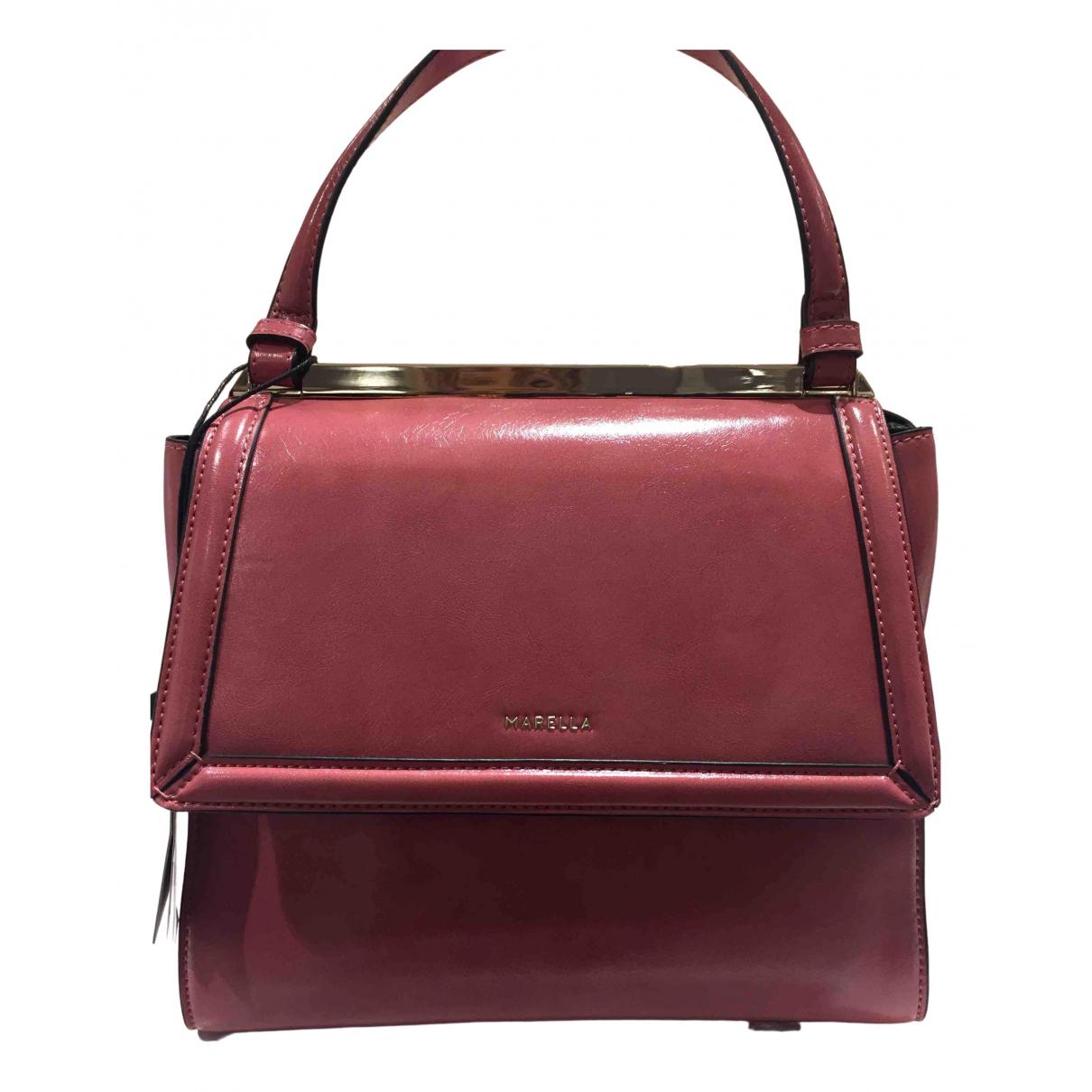 Marella \N Handtasche in  Rosa Synthetik
