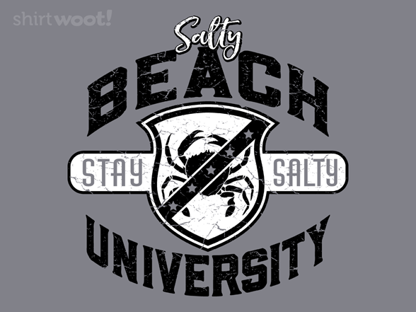 Salty Beach U T Shirt