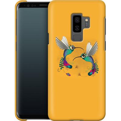 Samsung Galaxy S9 Plus Smartphone Huelle - Hummingbirds von Victoria Topping