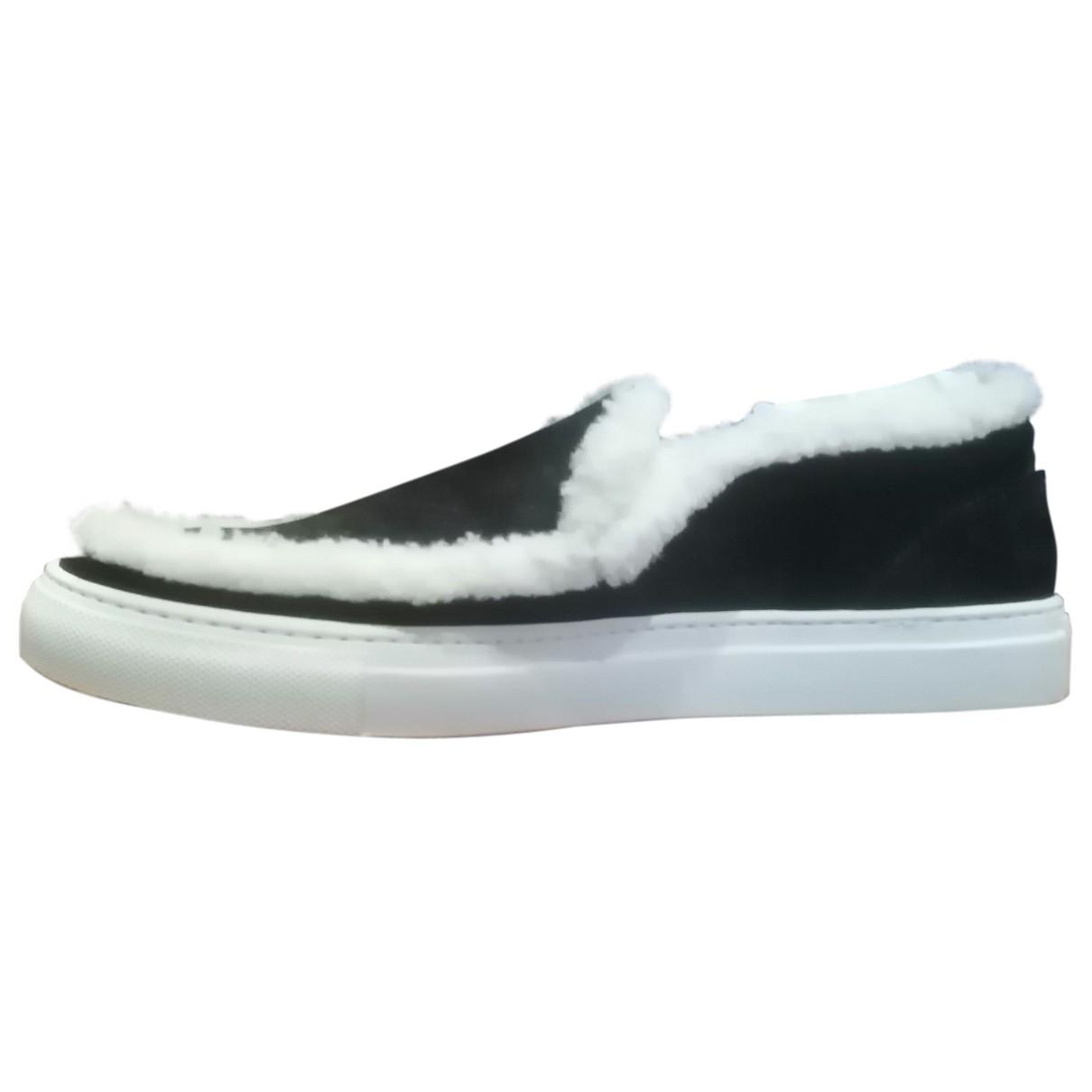 Joshua Sanders \N Sneakers in  Schwarz Veloursleder