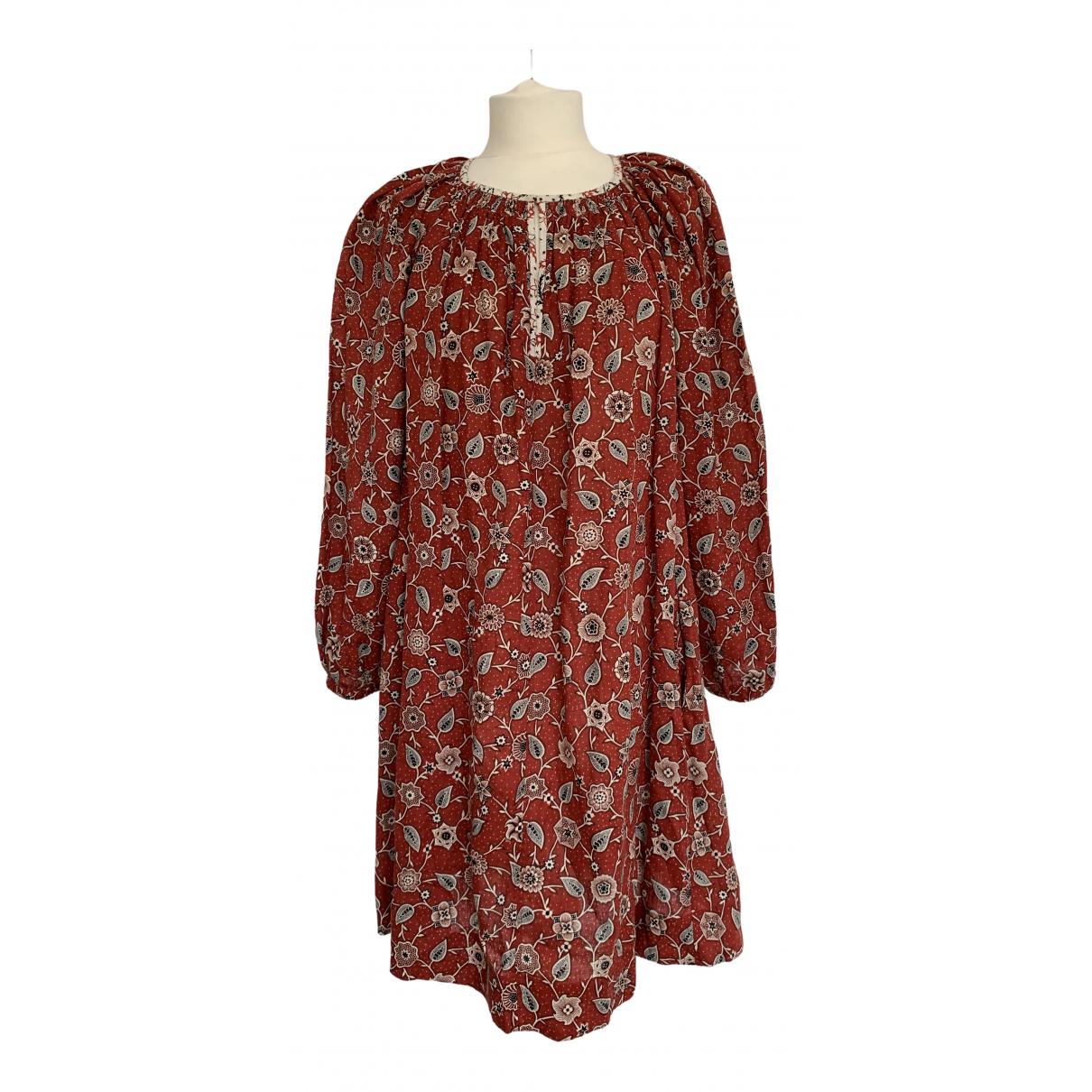 Isabel Marant Etoile - Robe   pour femme en lin - rouge
