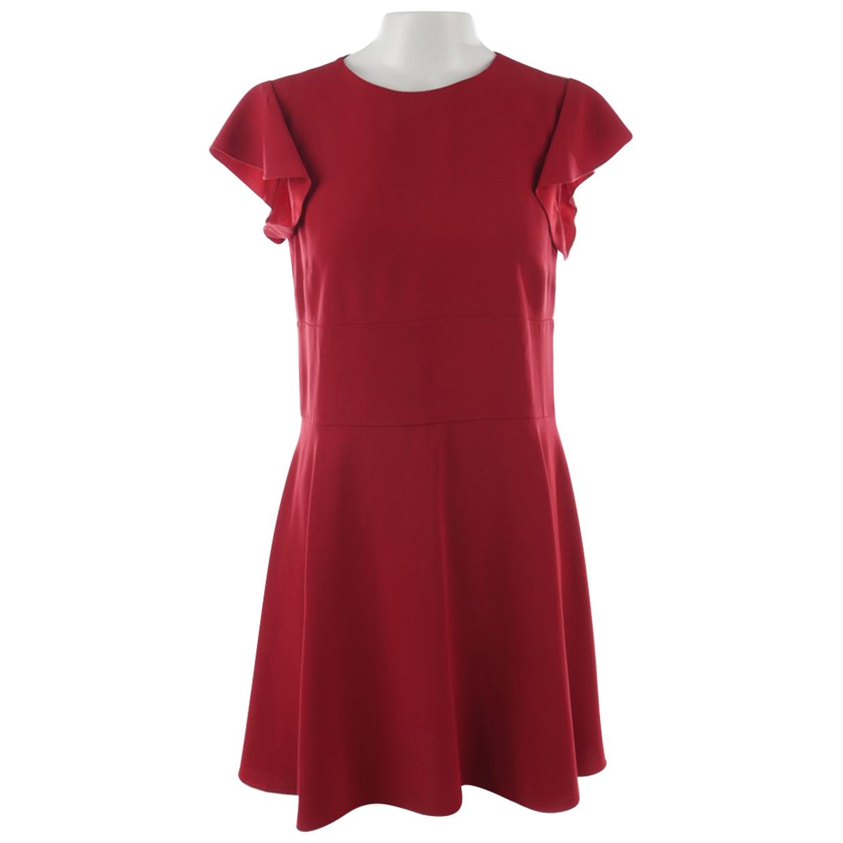 Red Valentino Garavani \N Kleid in  Rot Viskose