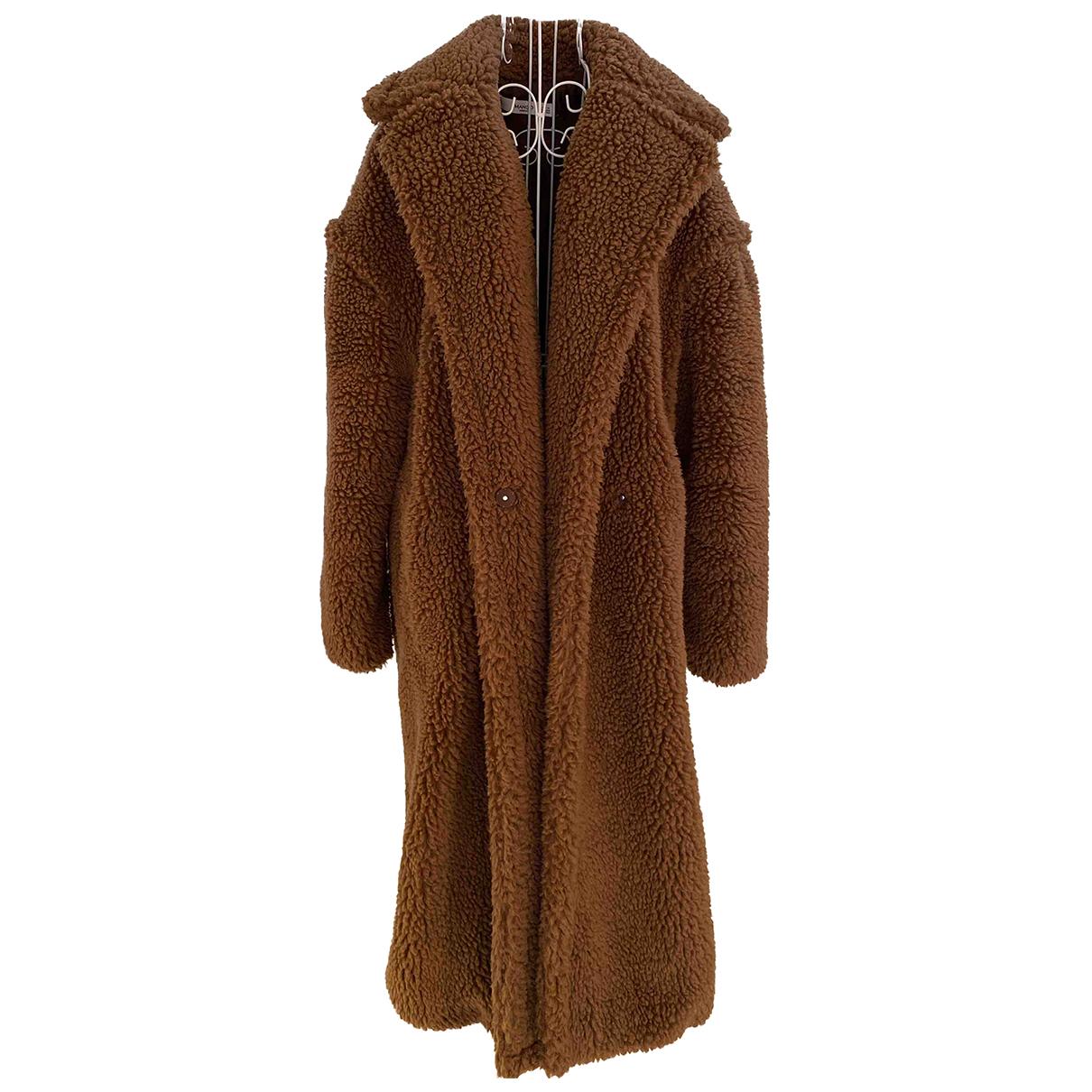 Mango - Manteau   pour femme - camel