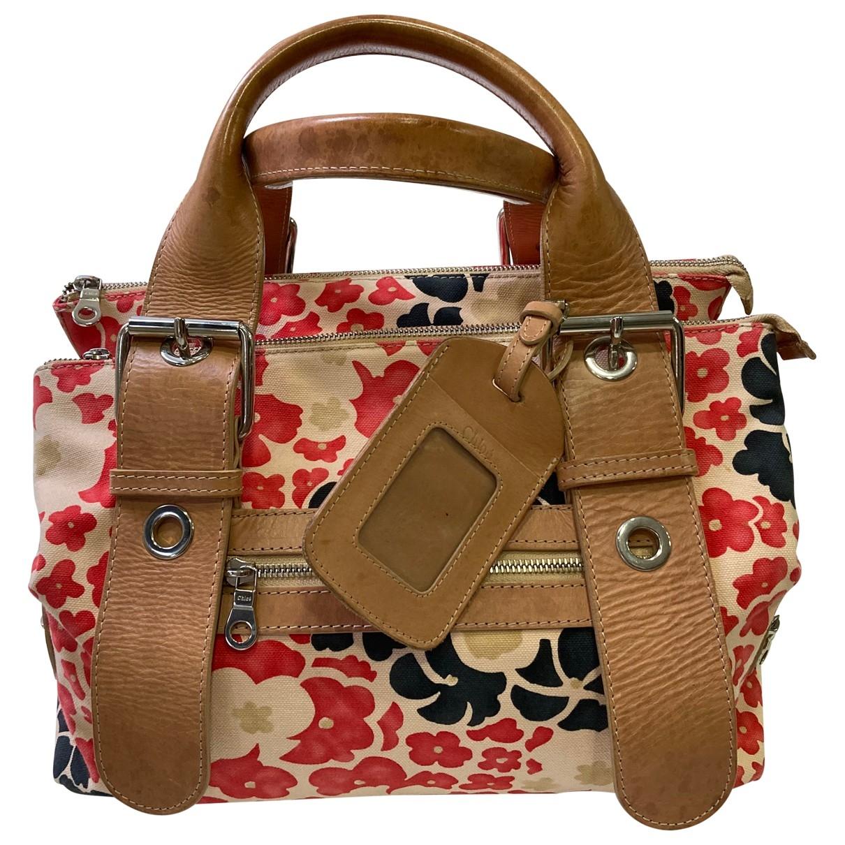 Chloe \N Handtasche in  Bunt Leinen