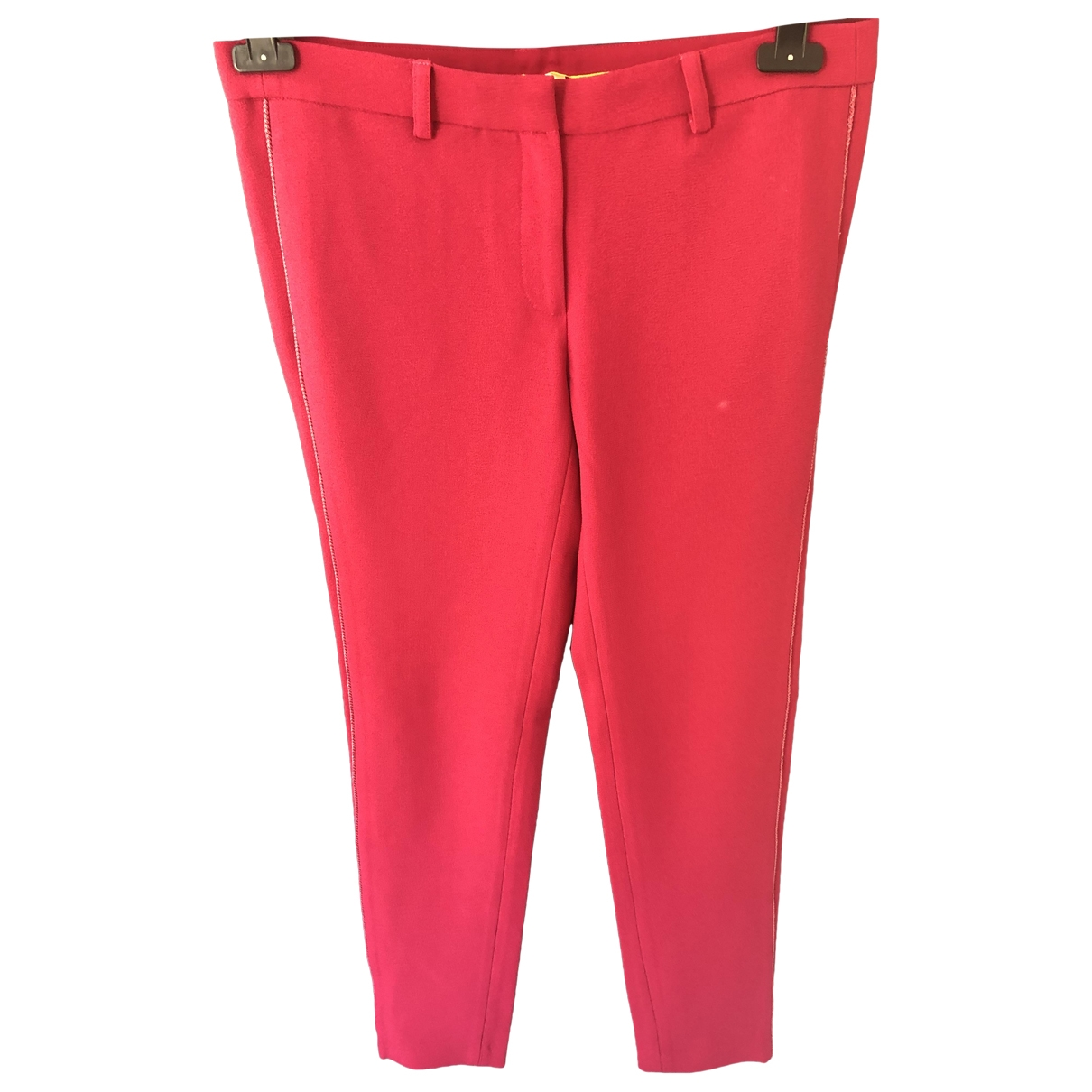 Bel Air \N Pink Trousers for Women 40 FR