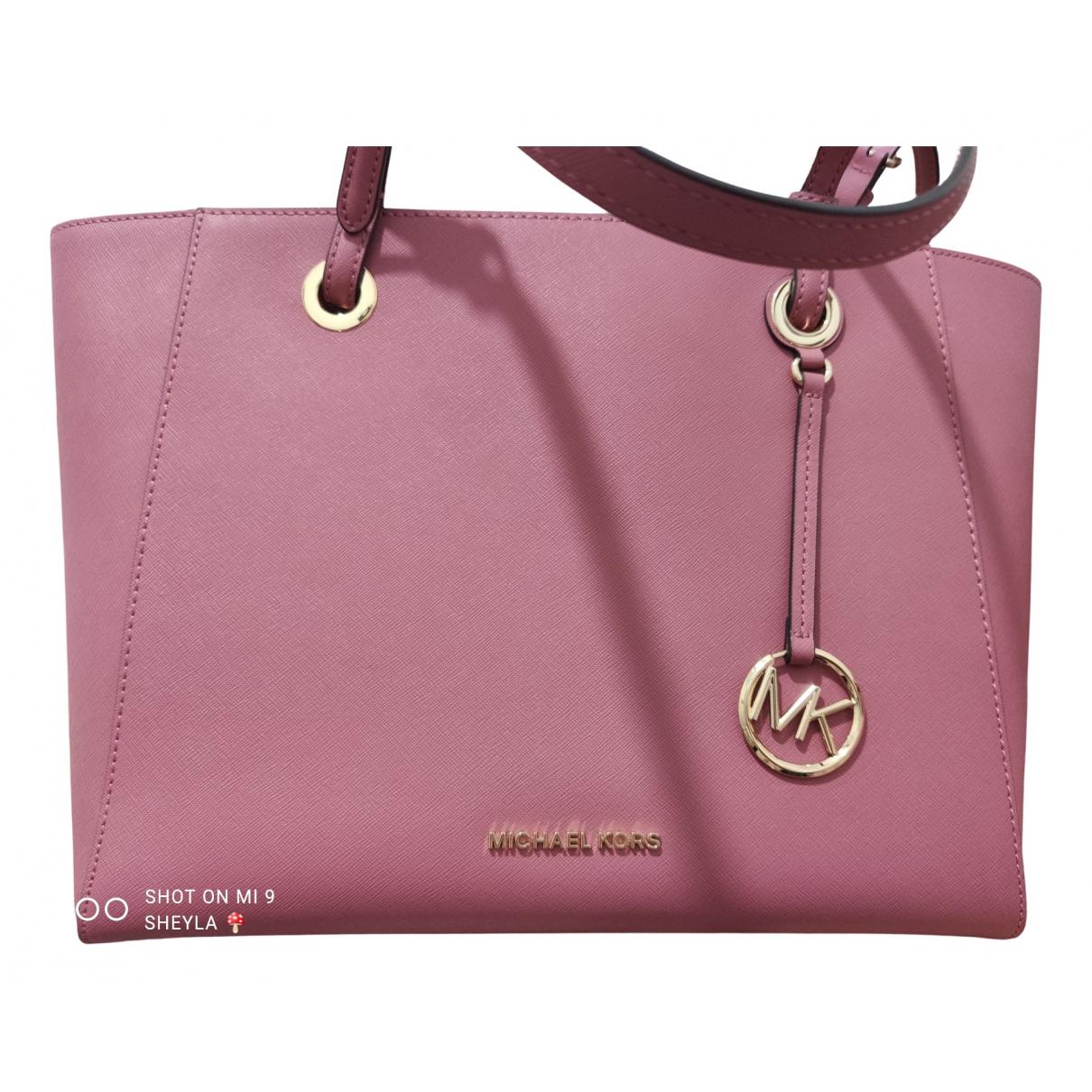 Michael Kors - Sac a main Sady pour femme en cuir - rose