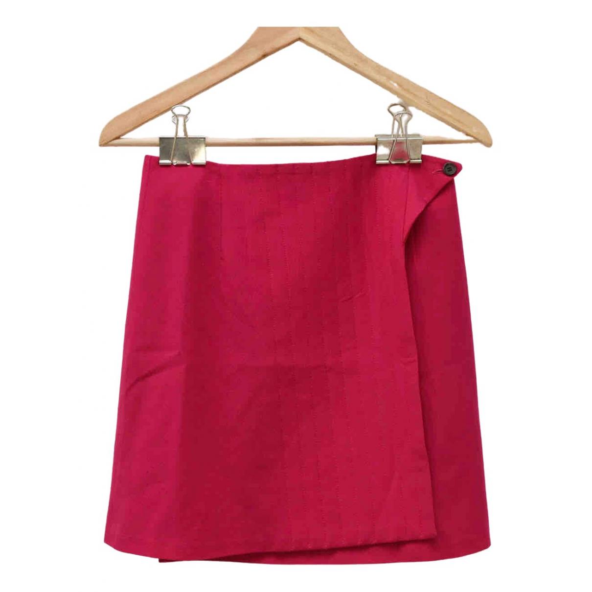 Mini falda de Lana Dries Van Noten