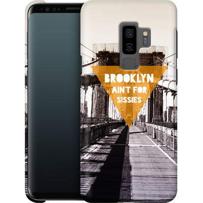 Samsung Galaxy S9 Plus Smartphone Huelle - BKLYN Aint For Sissies von Statements