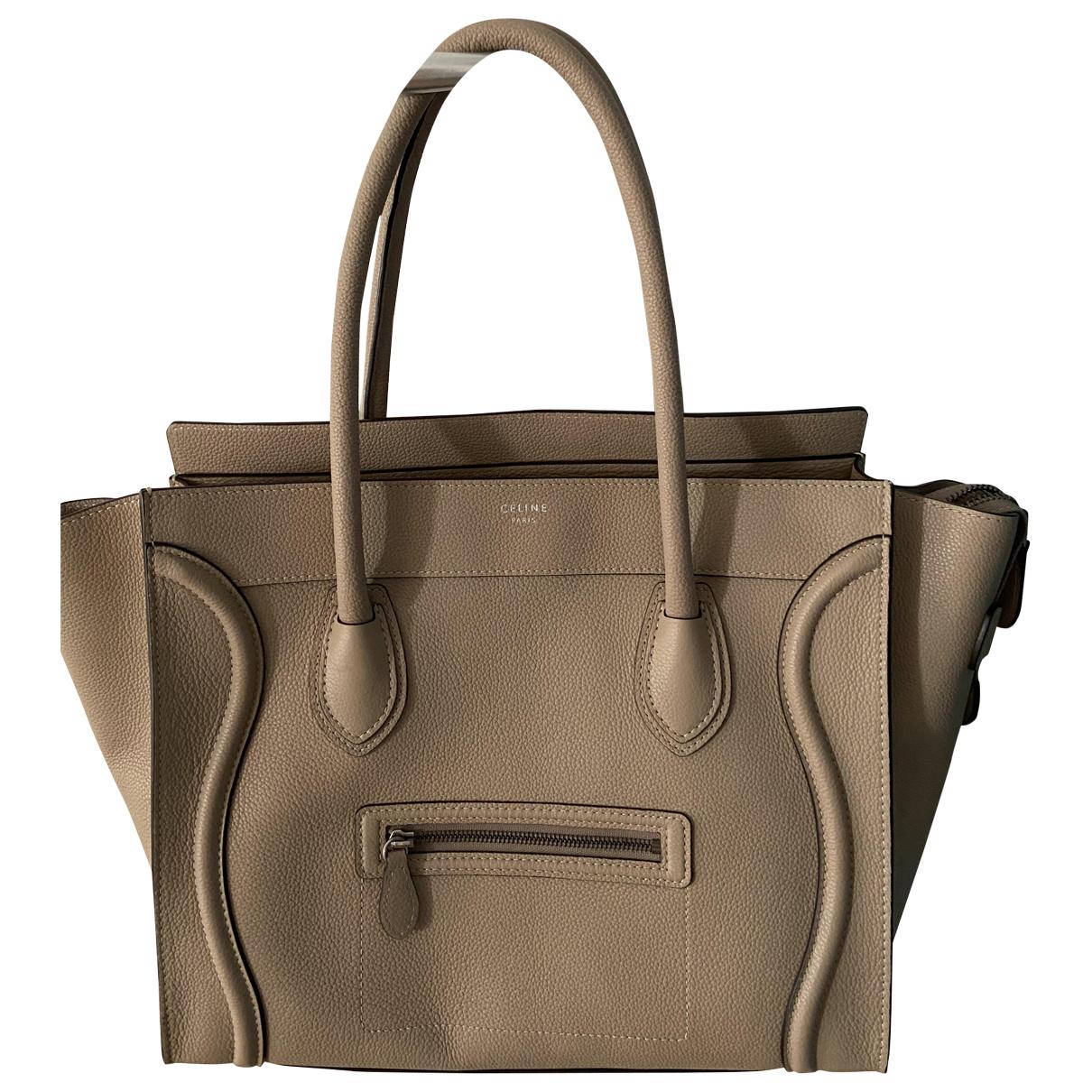 Celine Luggage Brown Leather handbag for Women \N