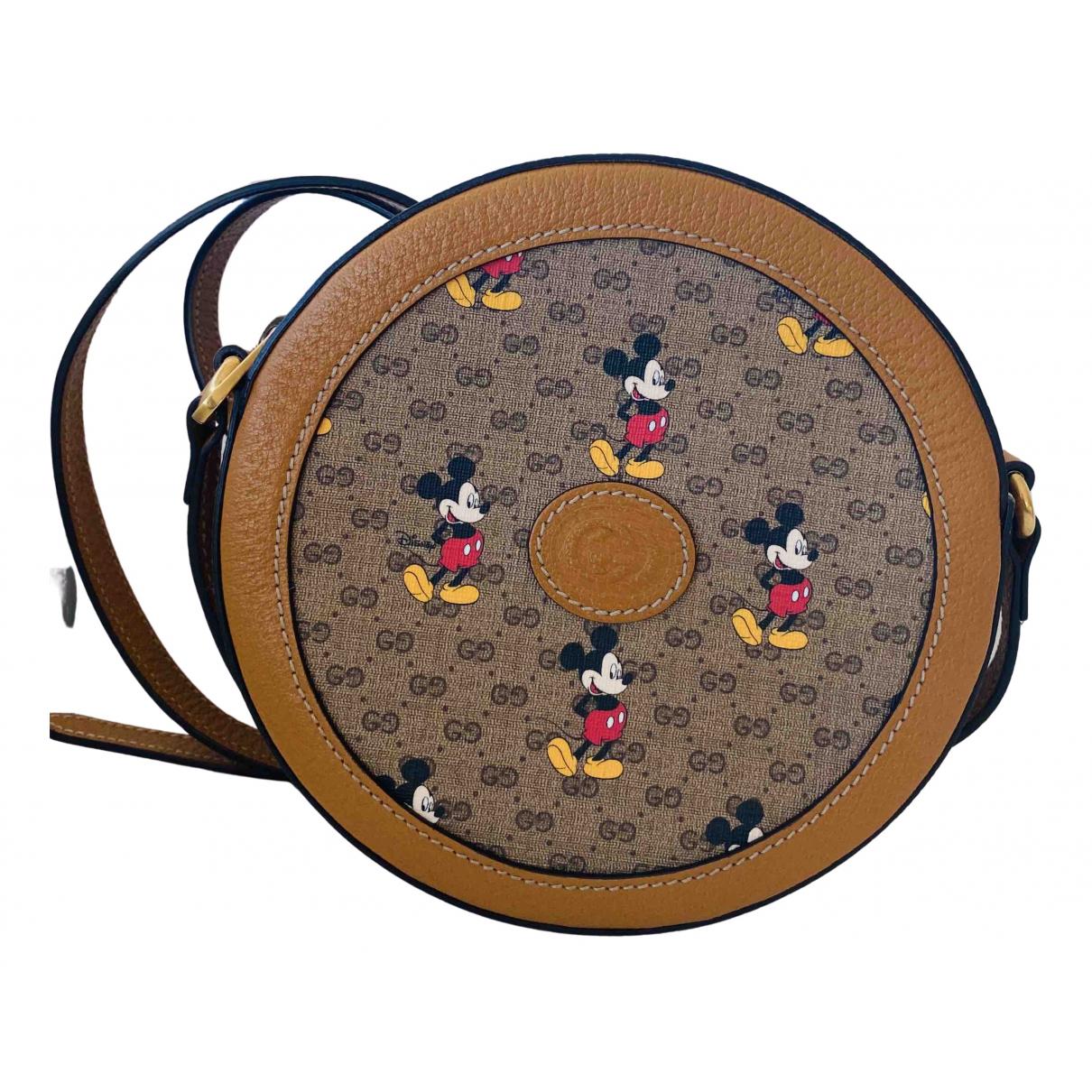Gucci \N Brown Cloth handbag for Women \N