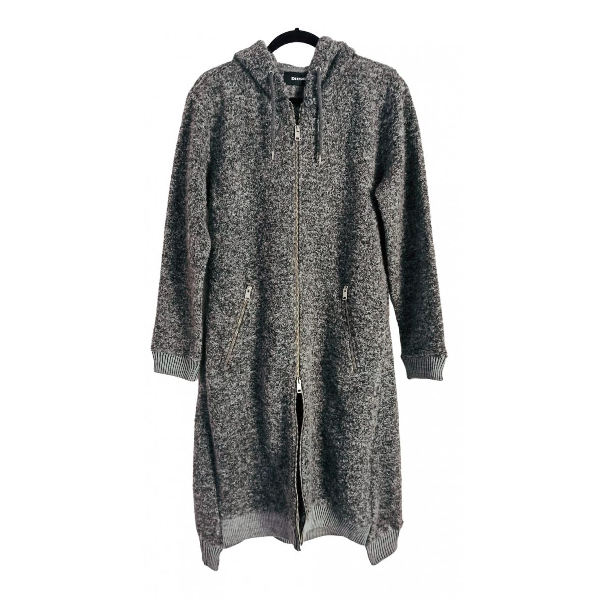 Diesel \N Grey Wool coat for Women M International