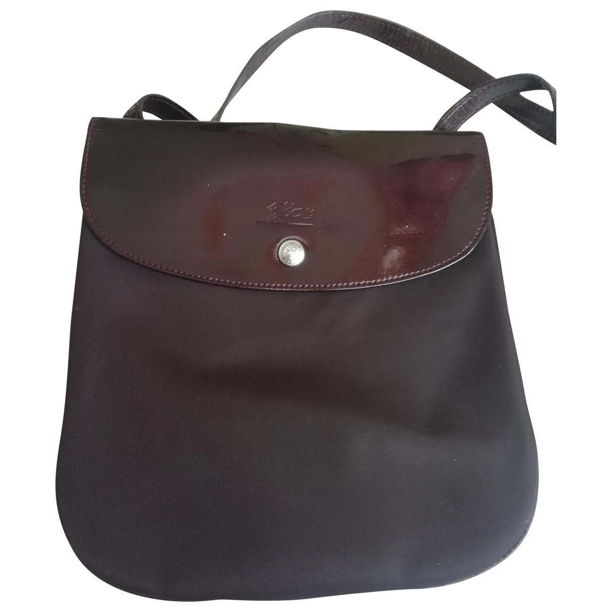 Longchamp \N Purple Cloth handbag for Women \N