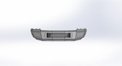 Flog Industries FISD-D2535-0305F 03-05 RAM 2500-3500 Front Bumper
